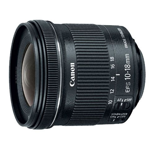 EF-S 10-18mm f4.5–5.6 IS STM