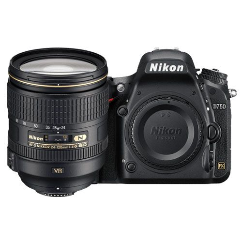 D750 with 24-120 F4 VR Wifi