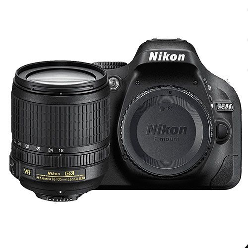 D5200 with 18-105mm