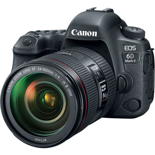 Canon EOS 6D Mark II DSLR Camera with EF 24-105mm f4L IS II USM Lens