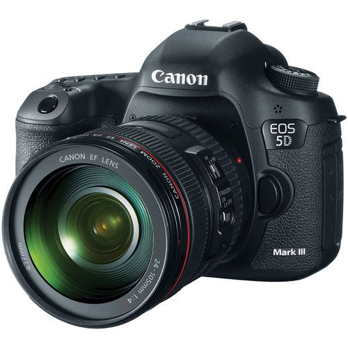 Canon EOS 5D Mark IV DSLR Camera with 24-105mm f4L II Lens