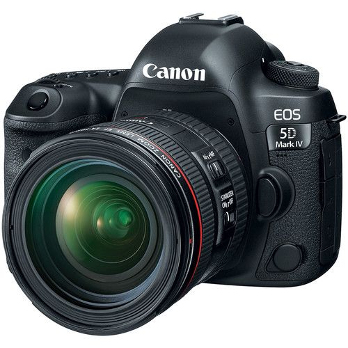 Canon EOS 5D Mark IV DSLR Camera with 24-70mm f4L Lens