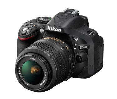 D5200 with 18-55mm