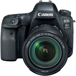 Canon EOS 6D Mark II DSLR Camera with 24-105mm f3.5-5.6 Lens