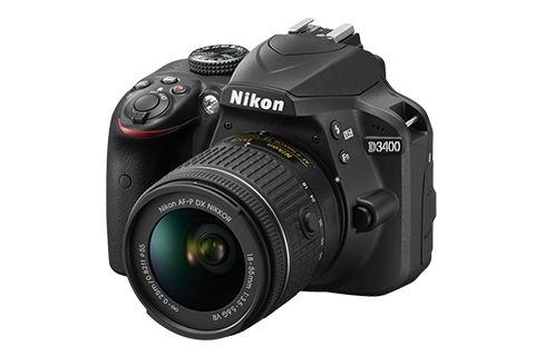 D3400 with 18-140mm